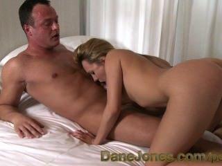 Danejones Blonde Teen Pert Tits And Juicy Ass Has Pussy Eaten To Orgasm