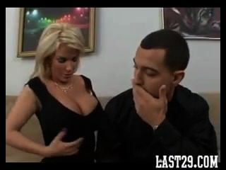 Hot Busty Cougar Fucks Big Cock