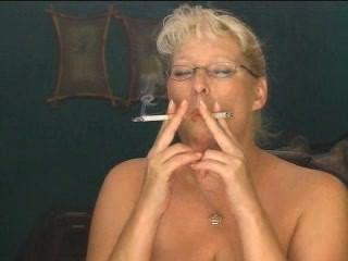 Heavy Smoking Milf