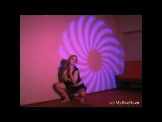 Busty Teen Malina May Dance