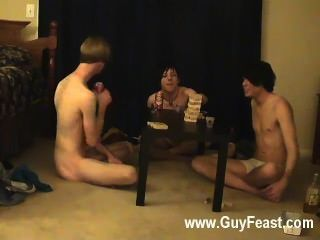 Gay Video Trace And William Get Together With Their New Friend Austin For