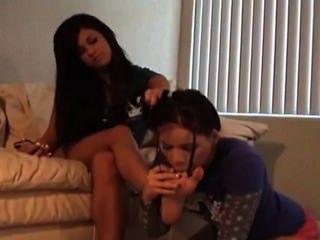 Lesbian Feet Worshipping