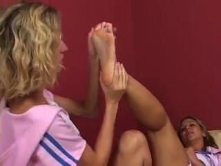 Sorority Sisterly Foot Love