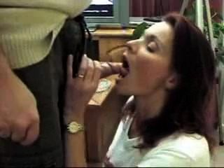 My Office Manager Blowjob My Dick