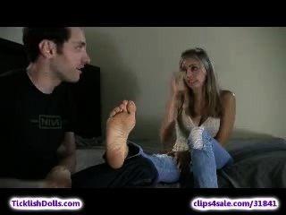 Kaylaa Rae Soles Tickling