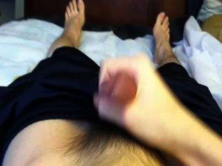 Asian Teen Morning Cum