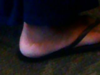 Candid Quickie: Blue Toes