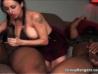 Hot School Girl Satisfying Two Huge Part