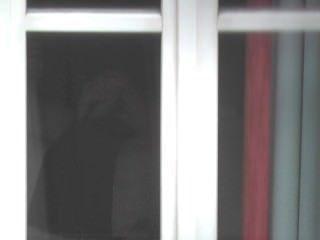 Guy Caught Exhibiting Behind Unveiled Window Till He Cums