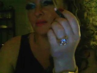 Cam Girl Smoking