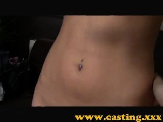 Casting - Creampie ))) For Insanely Tight Pussy