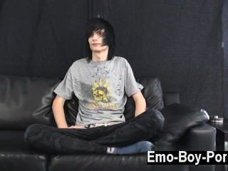 Hot Gay Scene Leo Definitely Is The Definition Of Emo. Long Ebony