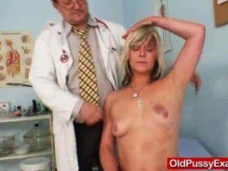 Drunk Housewife Nada Visits Her Gyno Medic