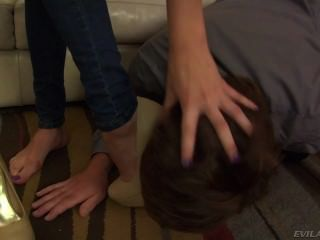 Step Dad Feet Worship Humiliation