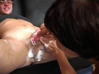 Shaving Boys Cock