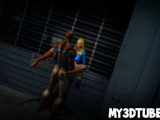 Hot 3d Supergirl Getting Fucked Hard By Spiderman