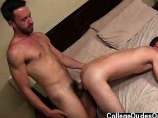 Hot Gay Sex Chris Waits Impatiently And When Isaac Is Ready, Chris Climbs