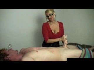 Massage Table Handjob