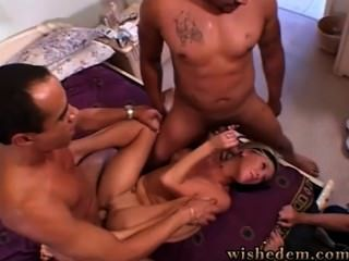 Five Of Them Fucked One Babe