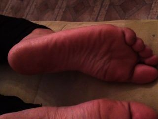 Playing With Gf Feet