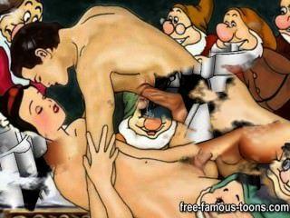Famous Cartoons Hardcore Orgy