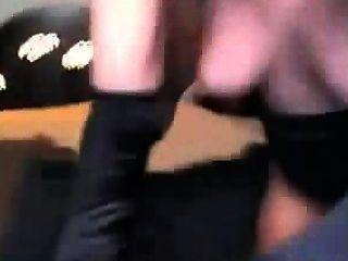Gorgeous Slut Fisting Her Ass