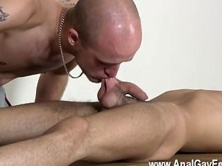 Hot Gay Scene Dom Man Kieron Knight Has A Super-sexy Youthfull Lad To