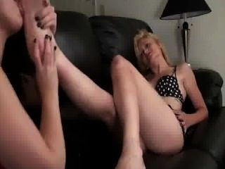 Toe Sucking Massage