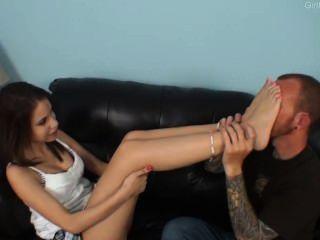 Worshiping Soft Feet
