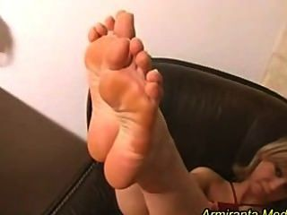 Nice Feet On Young Blonde