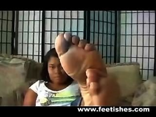 Plush Feet Soles Ebony
