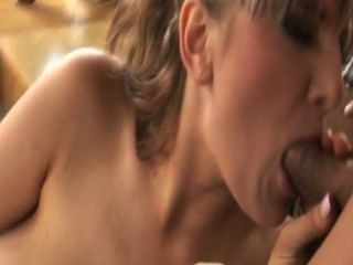 Big Titted Hoe Emjoys A Dick In Her Mouth